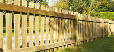 Henley Planed Palisade Fencing Fencing Panels A J
