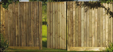 Featheredge Fencing Fencing Panels A J Charlton Timber