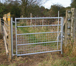 Traditional Steel Gates Galvanised Farm Gates Country
